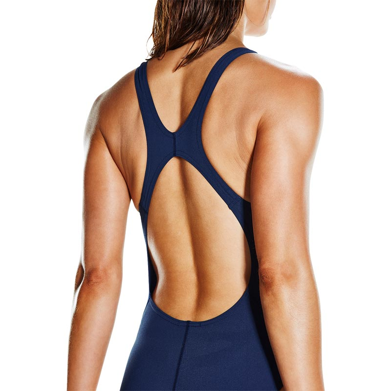 Speedo Gemstoneflash Recordbreaker Swimsuit Navy/Diva/Orange