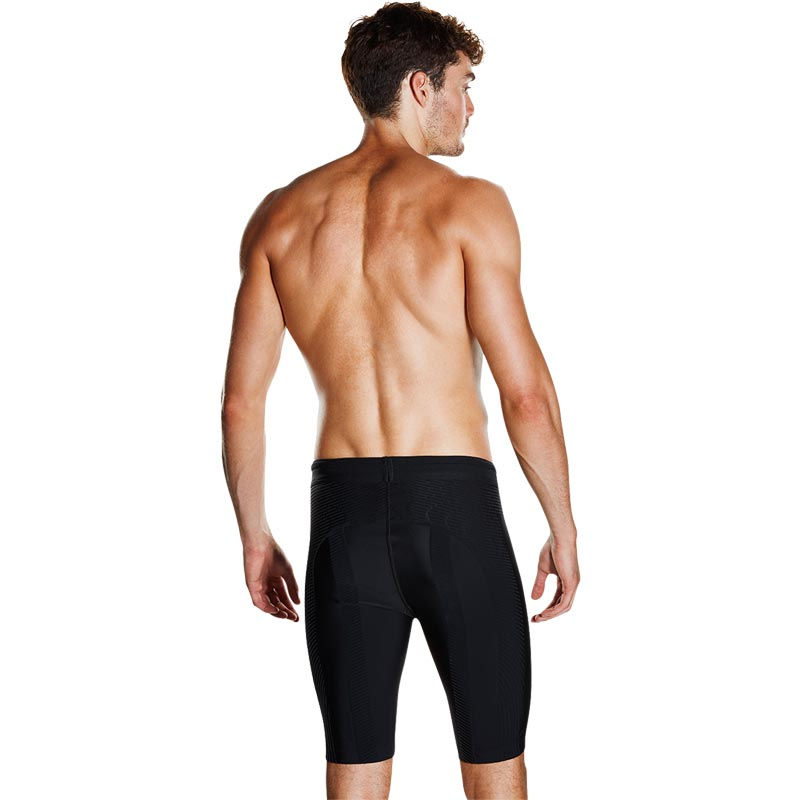 Speedo Fit Powerform Pro Jammer Black/Fluo Orange