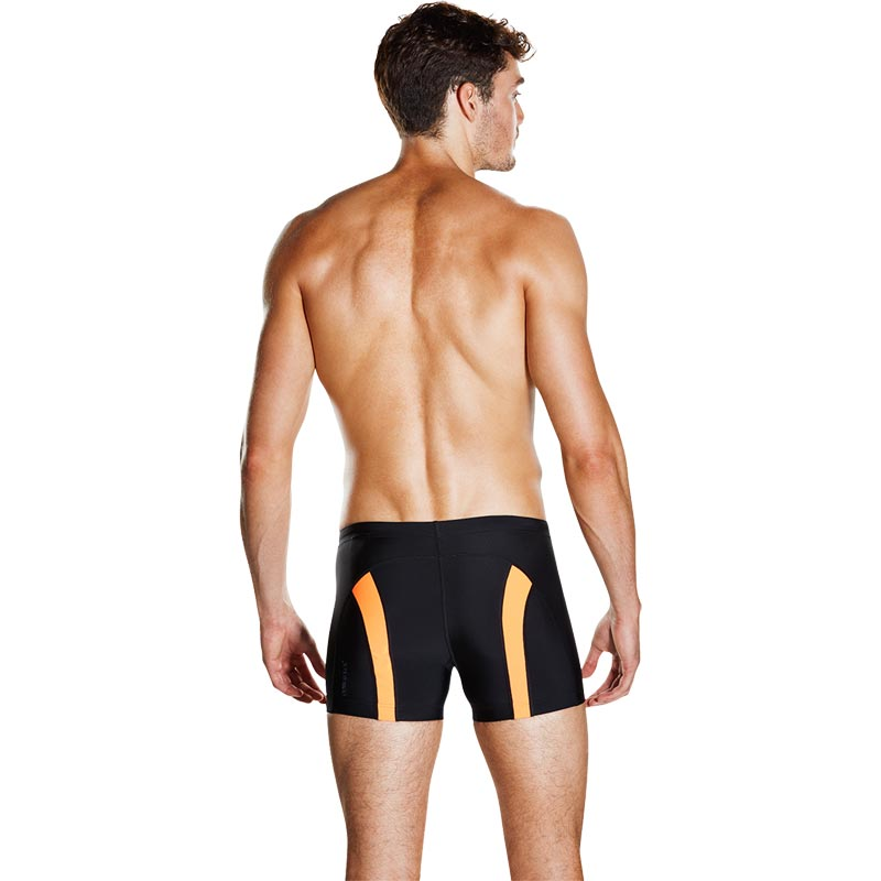 Speedo Fit Powermesh Pro Aquashort Black/Fluo Orange
