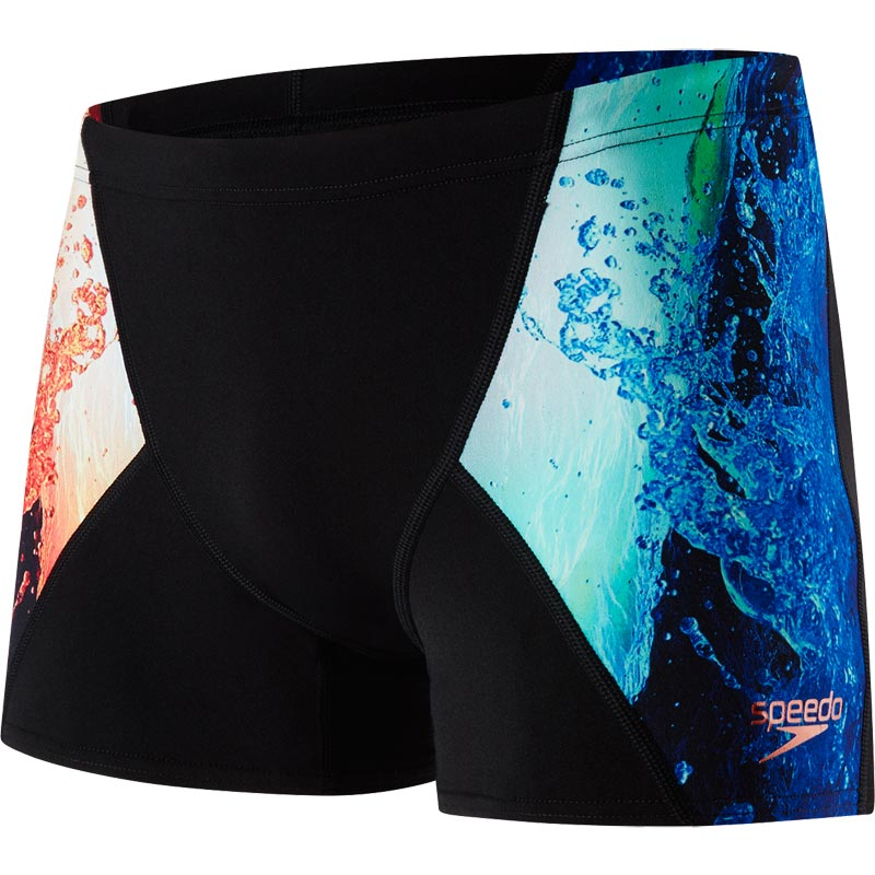 Speedo Energyblast Digital V Aquashort Black/Lobster/Violet