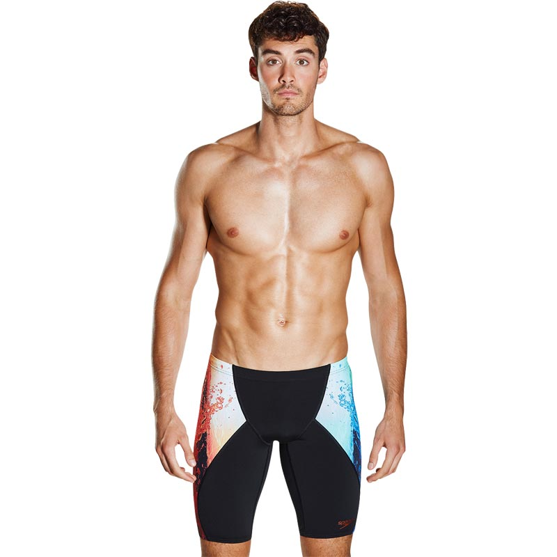 Speedo Energy Blast Placement Digital V Jammer Black/Violet
