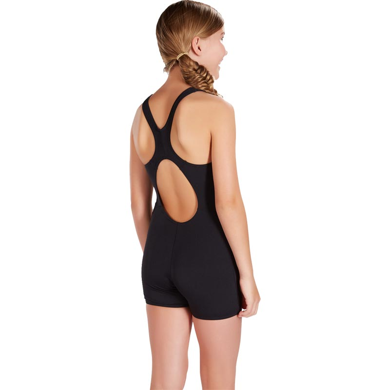 Speedo Girls Essential Endurance+ Legsuit Black