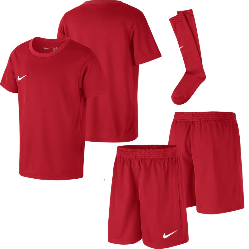 Nike Park Little Kids Football Kit Set University Red
