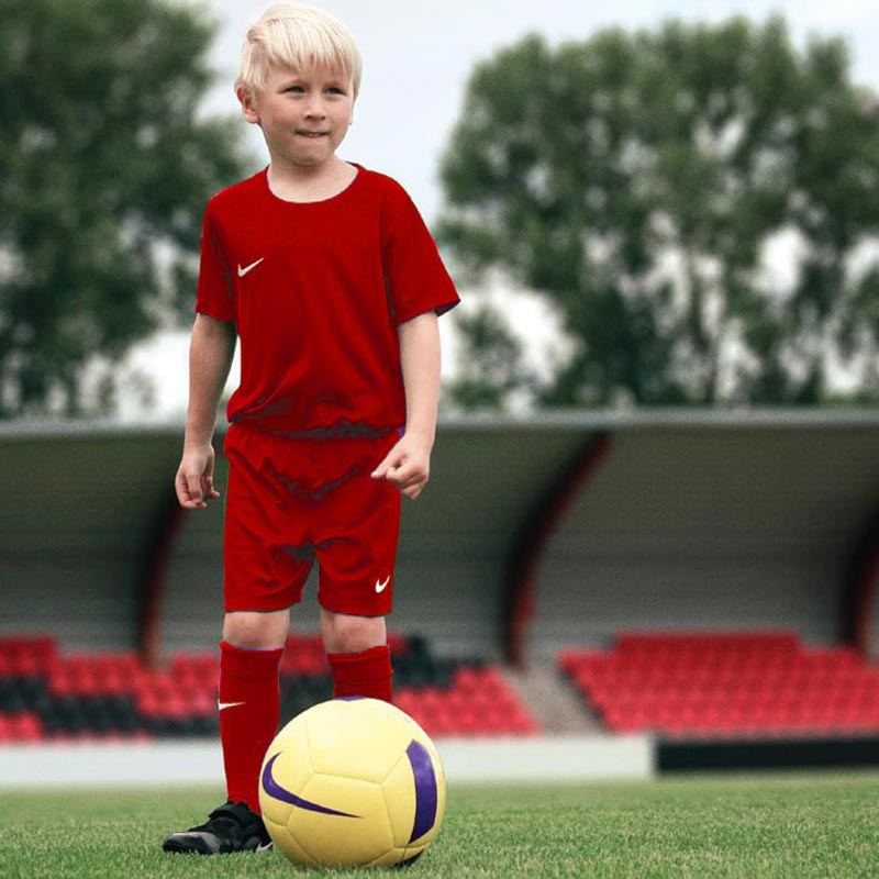 Nike Park Little Kids Football Kit Set University Red