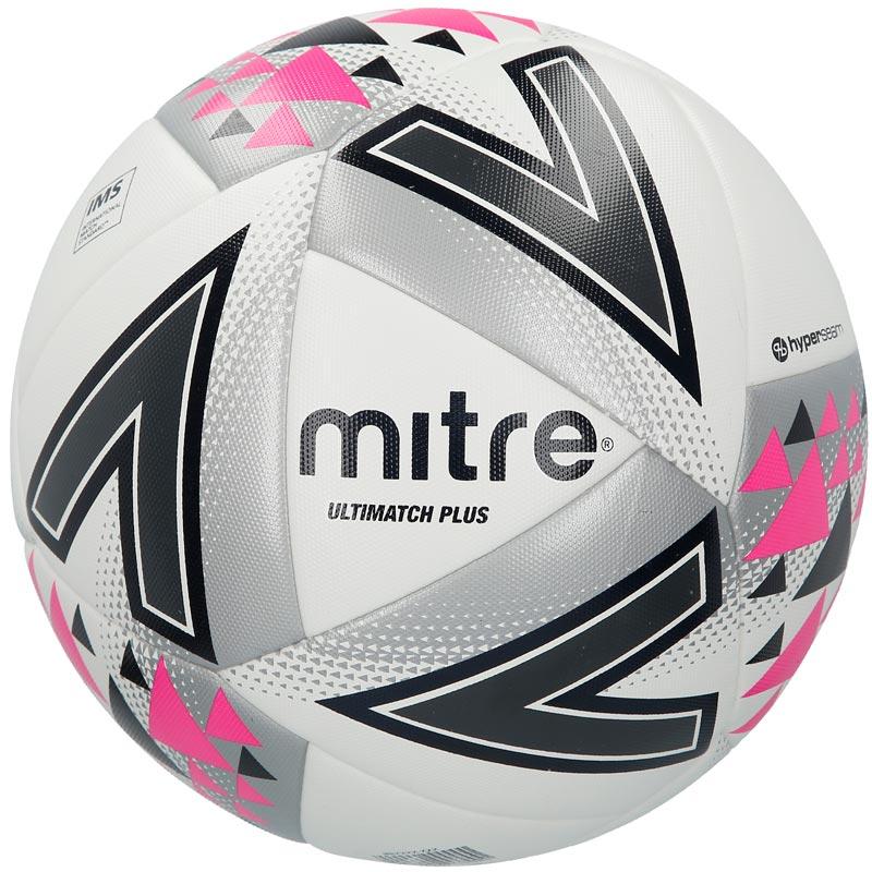 Mitre Ultimatch Plus Match Football White