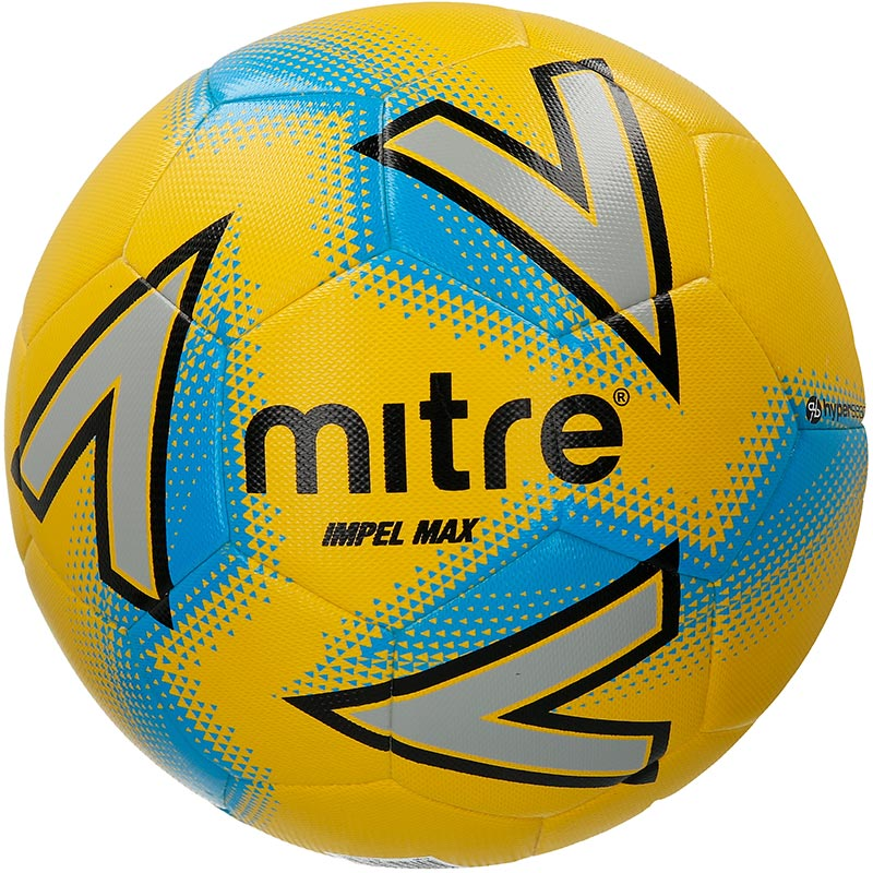 Mitre Impel Max Training Football Yellow