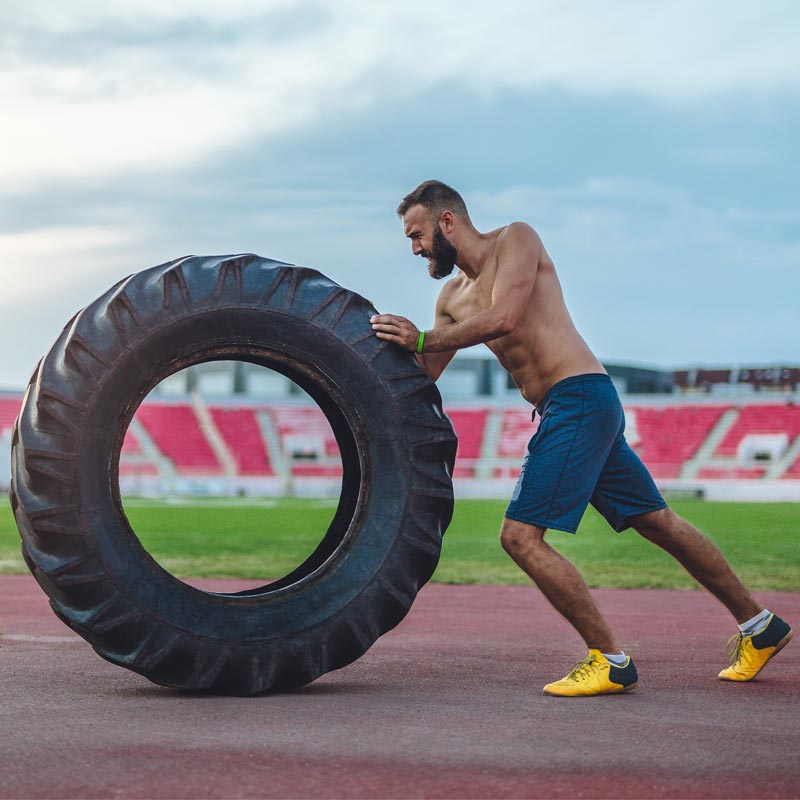 Apollo Training Tyre 78kg