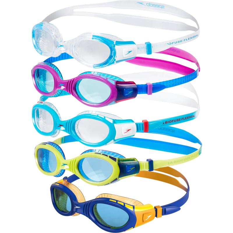 Speedo Junior Futura Biofuse Flexiseal Swimming Goggles