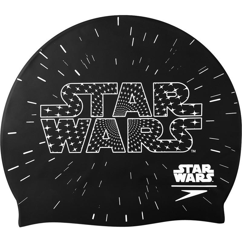 Speedo Junior Star Wars Logo Swimming Cap