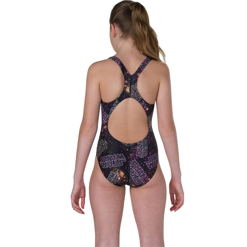 Speedo Star Wars Logo Constellation Allover Splashback Swimsuit