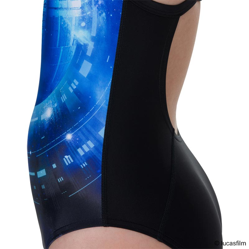 Speedo Star Wars Death Star Allover Thinstrap Swimsuit