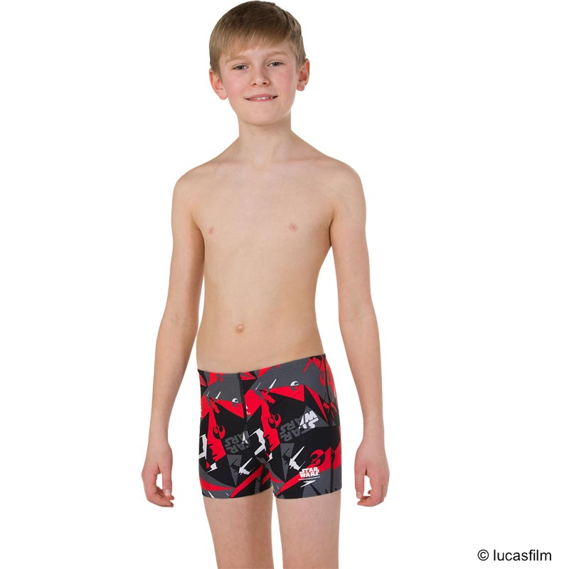 Speedo Star Wars Alliance Camo Aquashort Black/Grey