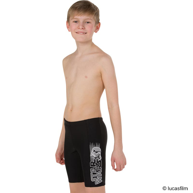 Speedo Star Wars Storm Trooper Jammer Black/White