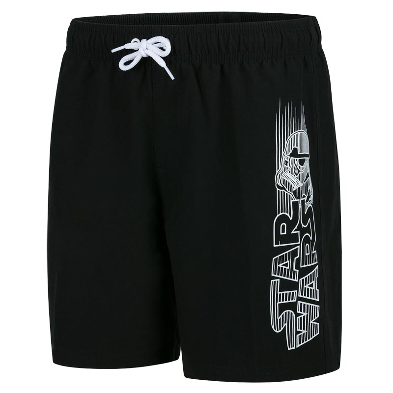 Speedo Star Wars Storm Trooper Watershort Black/White