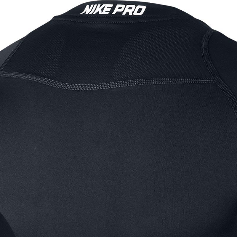 Nike Pro Compression Crew Senior Long Sleeve Top Black