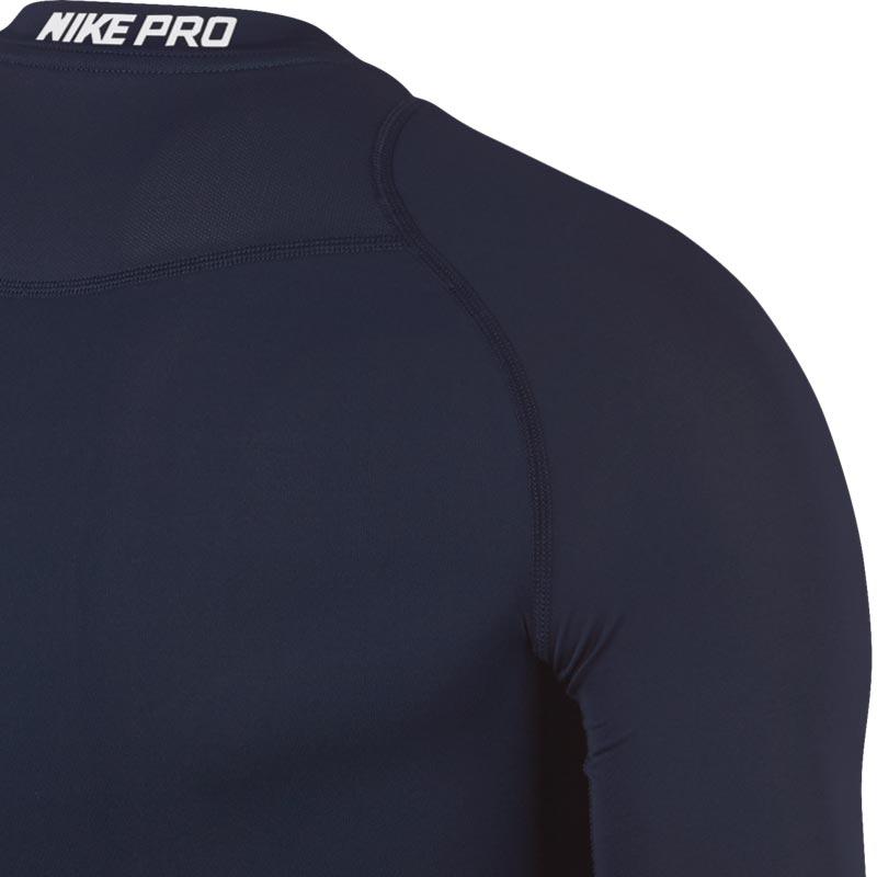 Nike Pro Compression Crew Senior Long Sleeve Top Obsidian