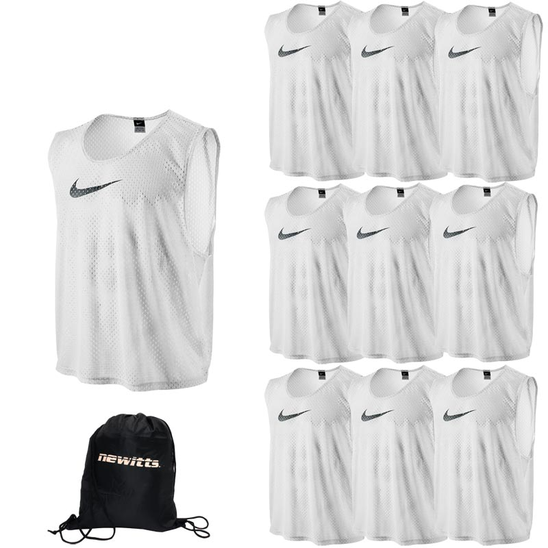 Nike Sports Training Bib White 10 Pack