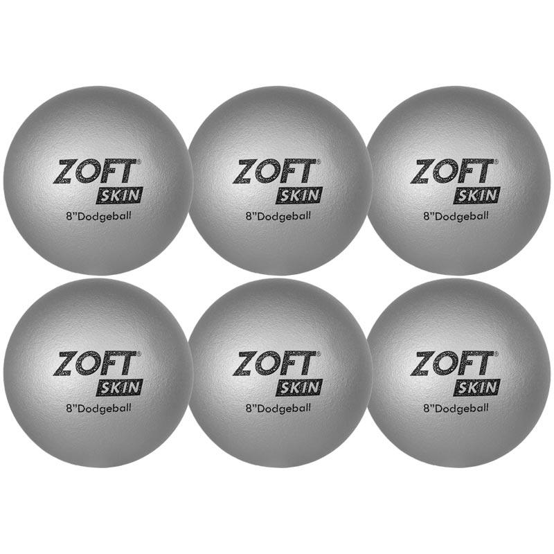 Zoftskin Dodgeball 8 Inch 6 Pack