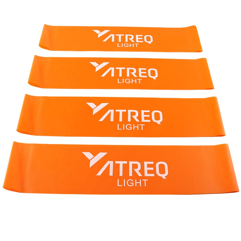 ATREQ Light Mini Loop Band 4-7kg 4 Pack