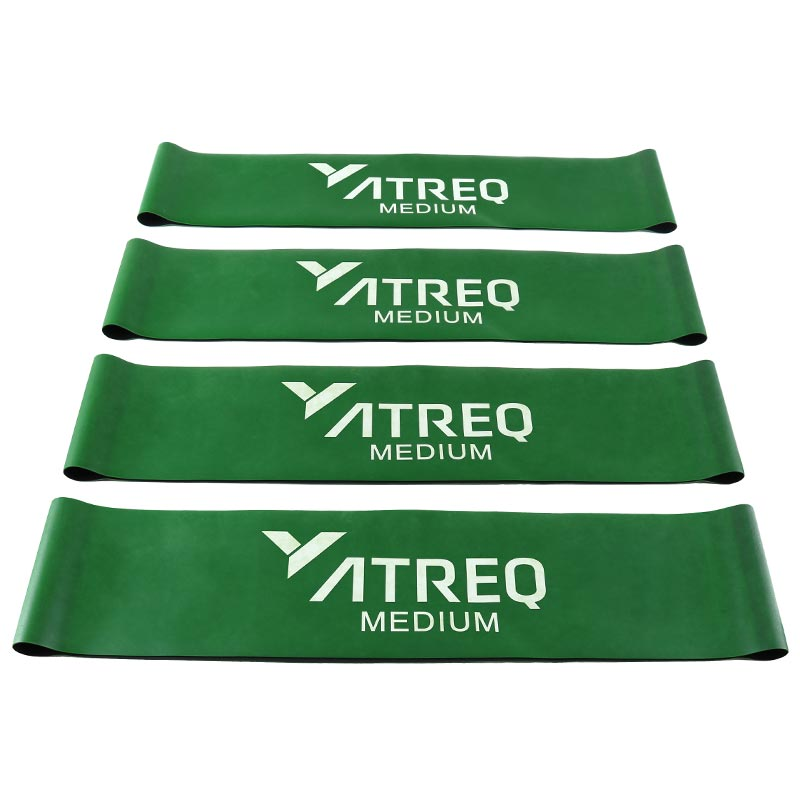 ATREQ Medium Mini Loop Band 9-11kg 4 Pack