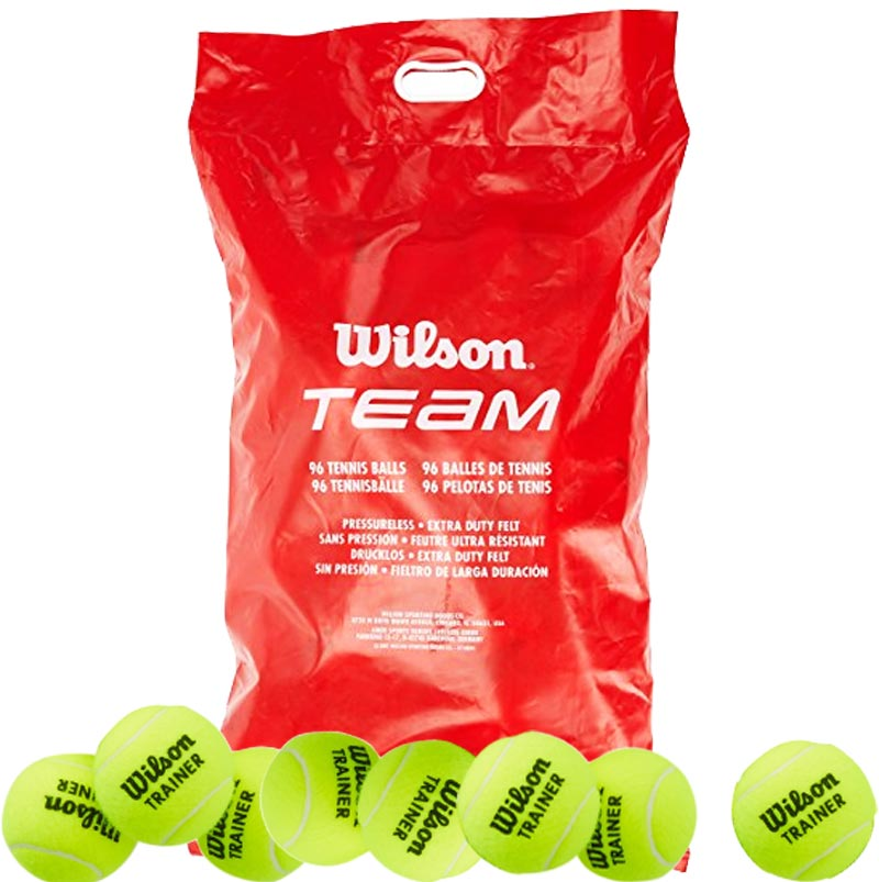 Wilson Team Trainer Tennis Ball 96 Pack