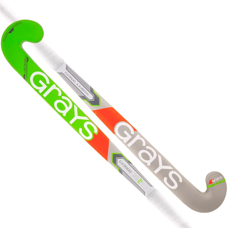 Grays GX3500 Jumbow Hockey Stick Grey/Green