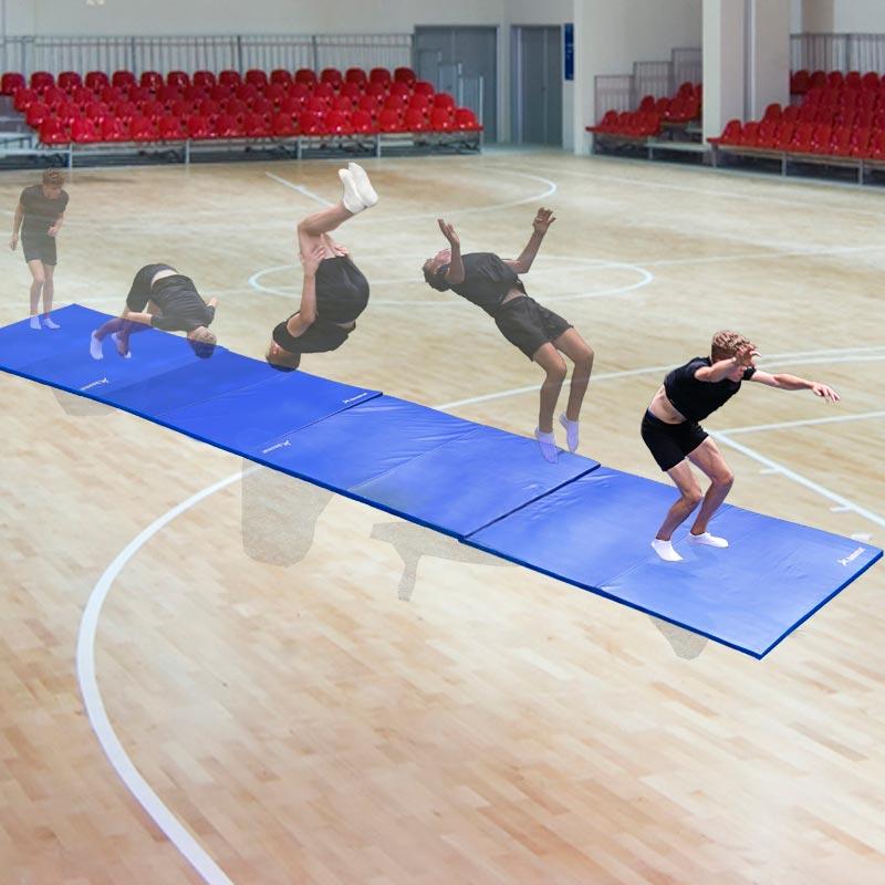 Beemat School Gymnastic Mat Lightweight 6ft x 4ft