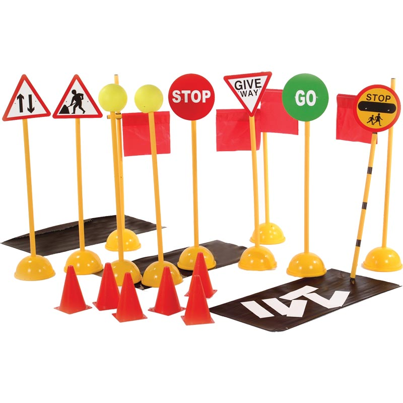First Play Road Crossing Set