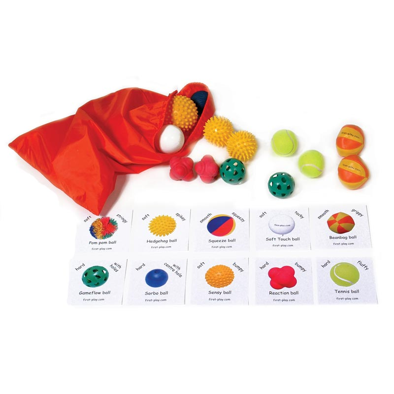 First Play Touch N Feel Tactile Ball Bag