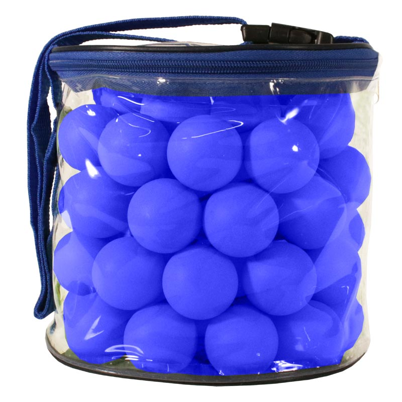 Table Tennis Balls 72 Pack Blue