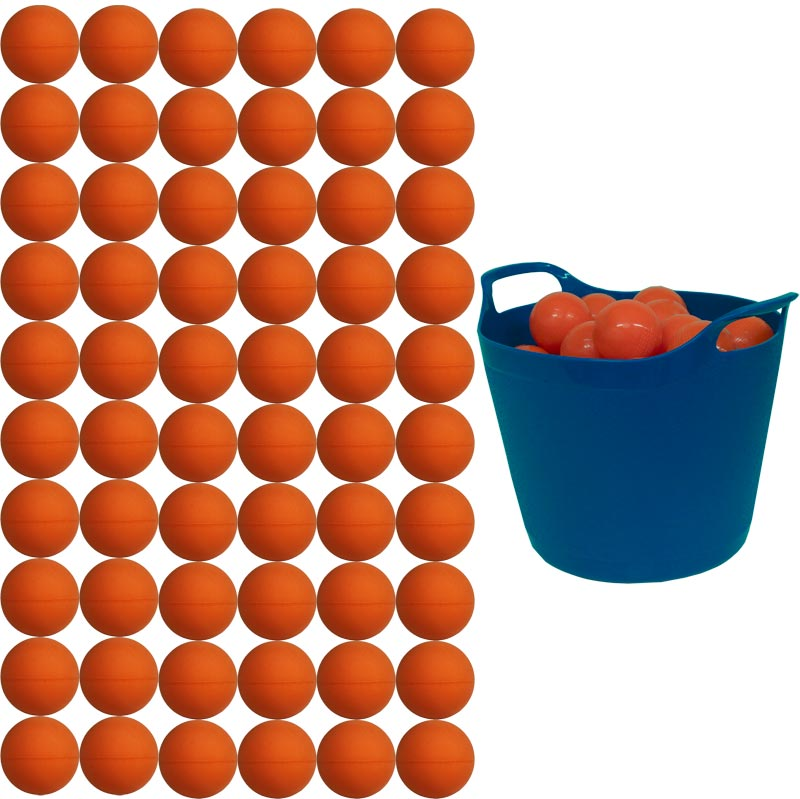 Zoft Foam Mini Tennis Ball 60 Pack