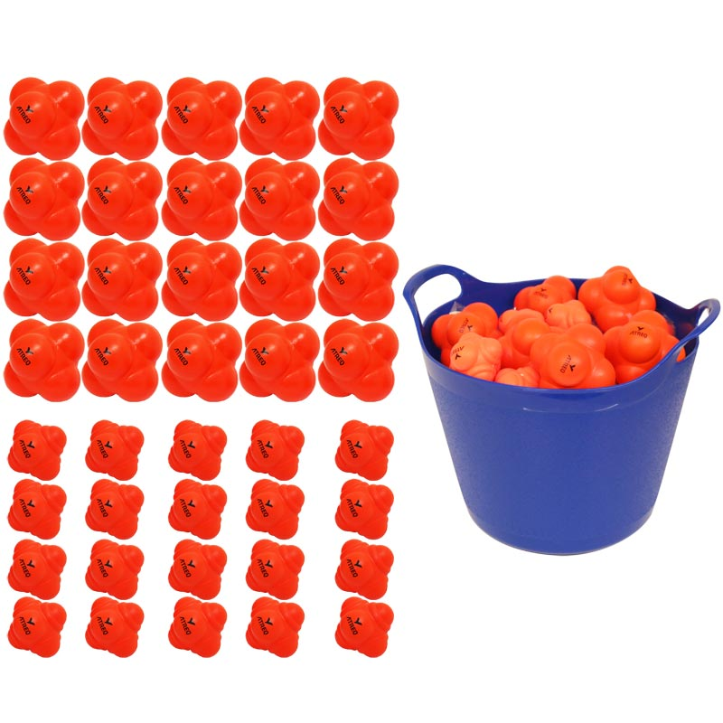 ATREQ Reaction Ball 40 Pack Assorted
