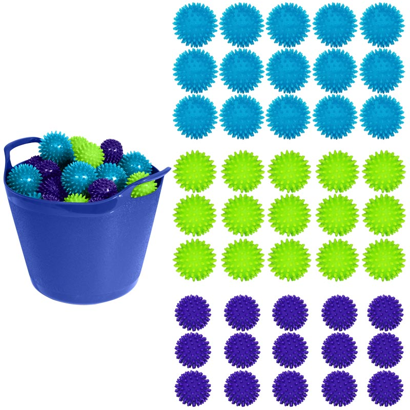 Apollo Spiky Massage Ball 45 Pack Assorted