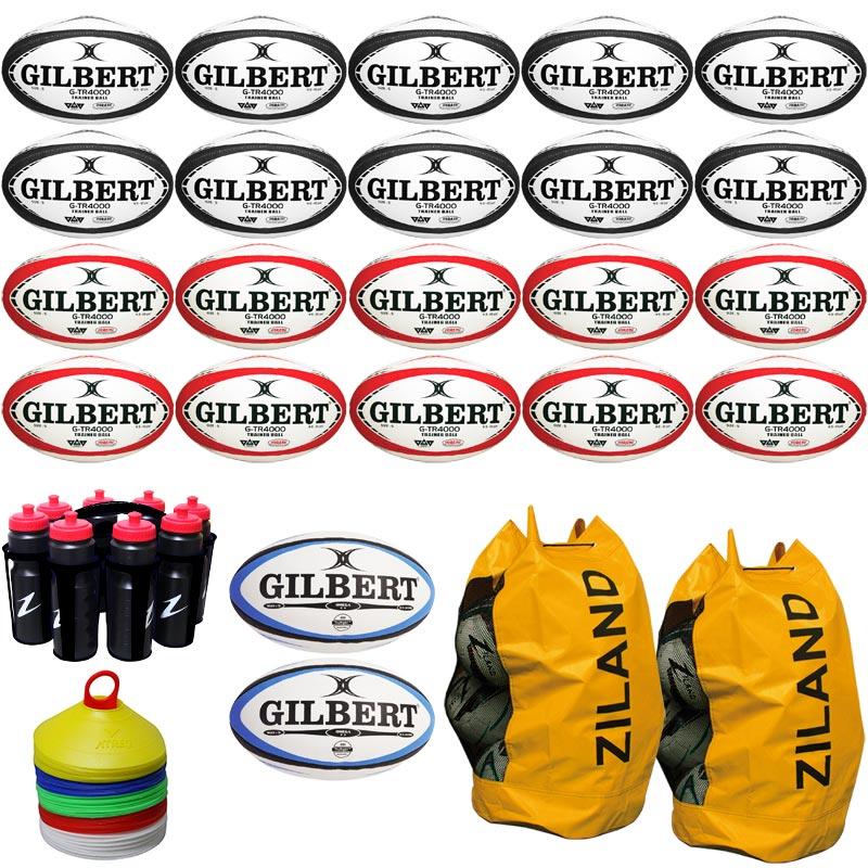 Gilbert Rugby Ball Equipment Pack