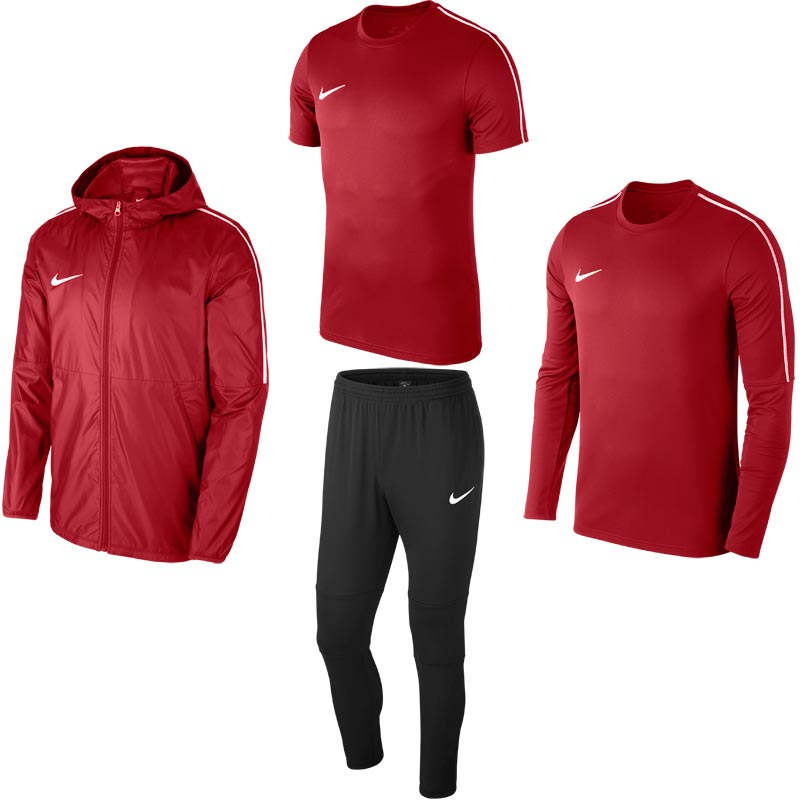 Nike Park 18 Fundamental Pack University Red/Black