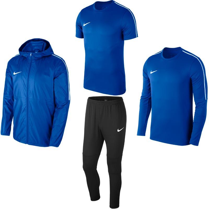 Nike Park 18 Fundamental Pack Royal Blue/Black