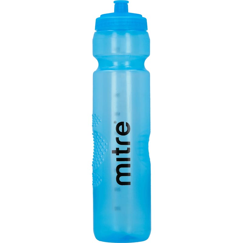 Mitre Sports Water Bottle 1 Litre Blue