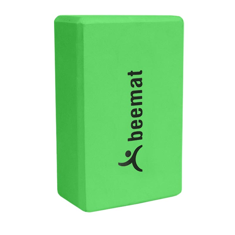 Beemat Lime Yoga Block