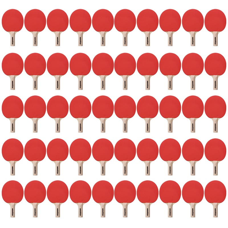 Tennis Bats Pimpled With Sponge Rubber 50 Pack