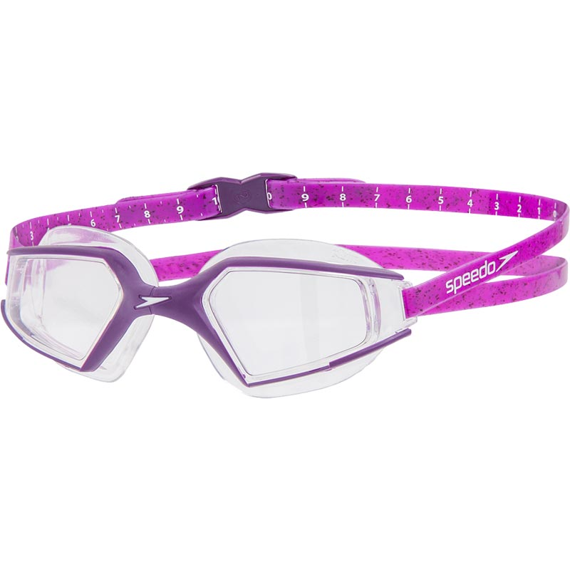 Speedo Aquapulse Max 2 Swimming Goggle Brmable/Black/Clear