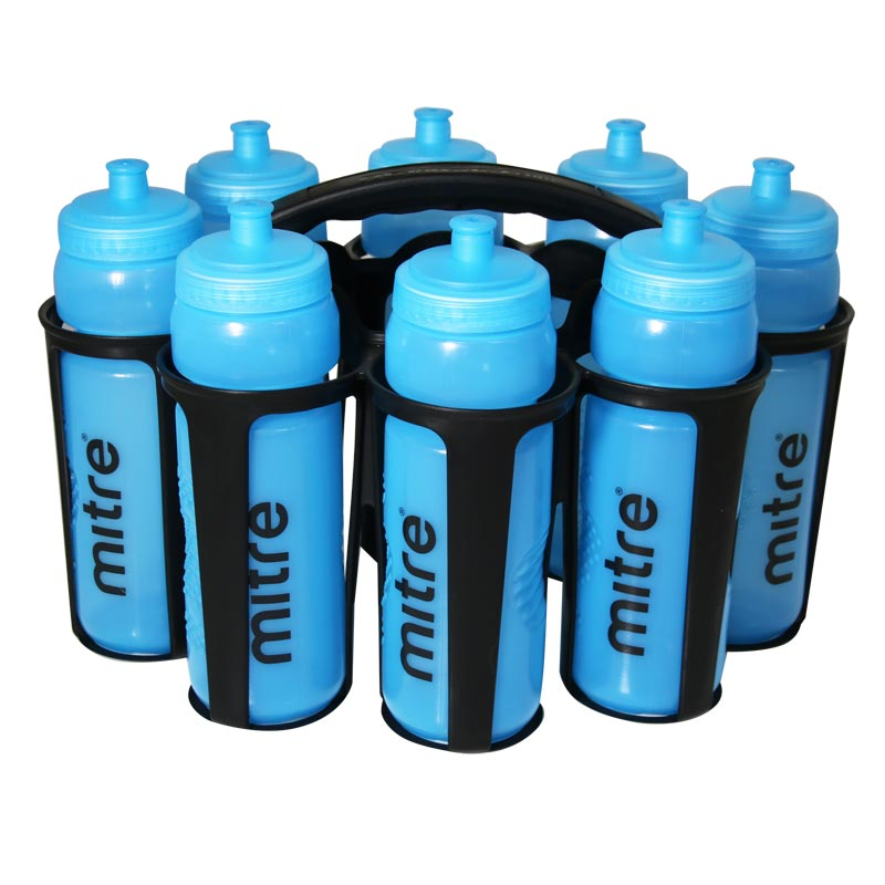 Mitre 800ml Water Bottles With Carrier