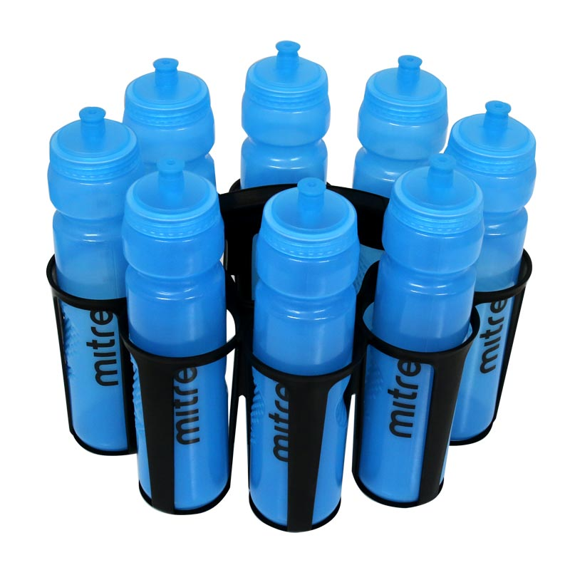 Mitre 1 Litre Water Bottles With Carrier