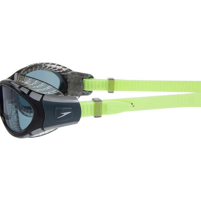 Speedo Futura Biofuse Flexiseal Swimming Goggles Bright Zest/Black/Smoke