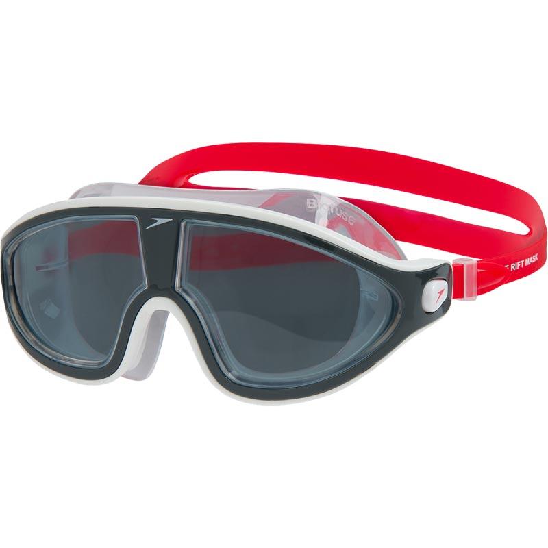 Speedo Biofuse Rift Swimming Mask Lava Red/Oxid Grey/Smoke