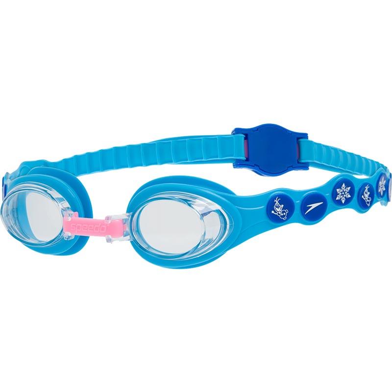 Speedo Disney Spot Frozen Swimming Goggles Turquoise/Blue/Clear