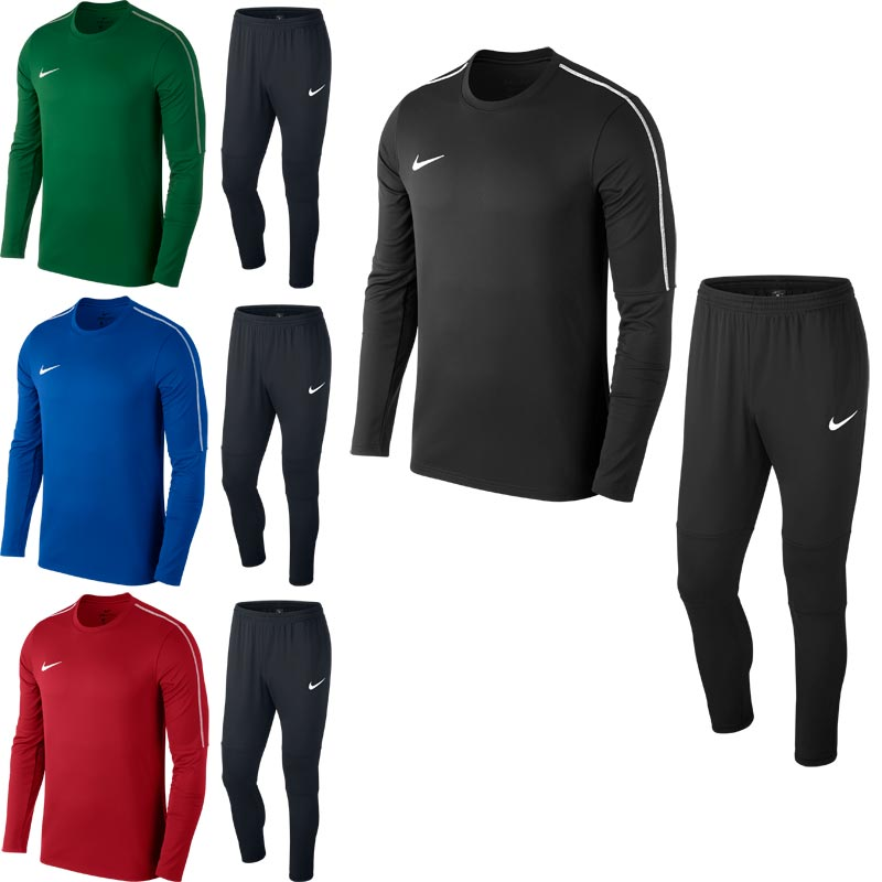 8f44d07023fd Nike Park 18 Senior Crew Warm Up Tech Tracksuit. Tap to expand
