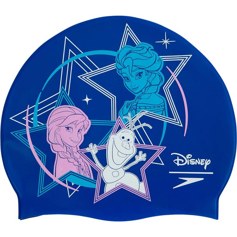 Speedo Junior Disney Frozen Slogan Swimming Cap
