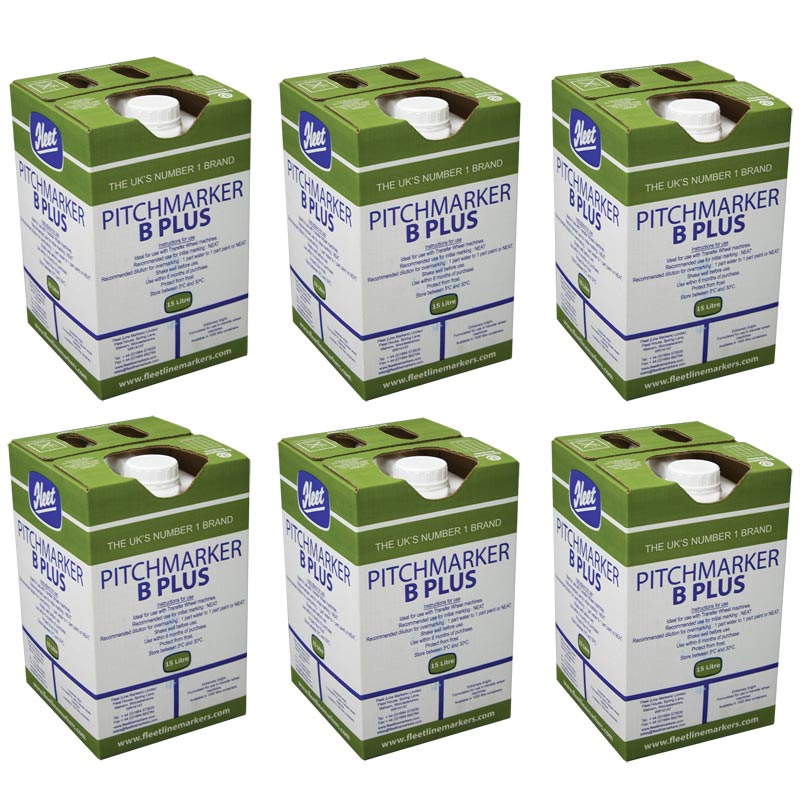 Fleet Pitchmarker B Plus Line Marking Paint 6 Pack