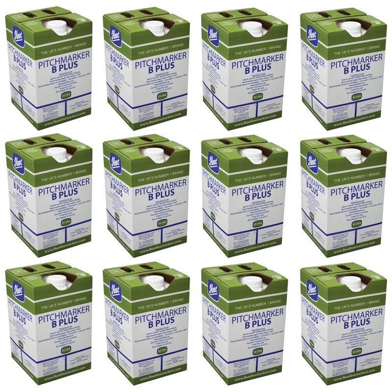 Fleet Pitchmarker B Plus Line Marking Paint 12 Pack