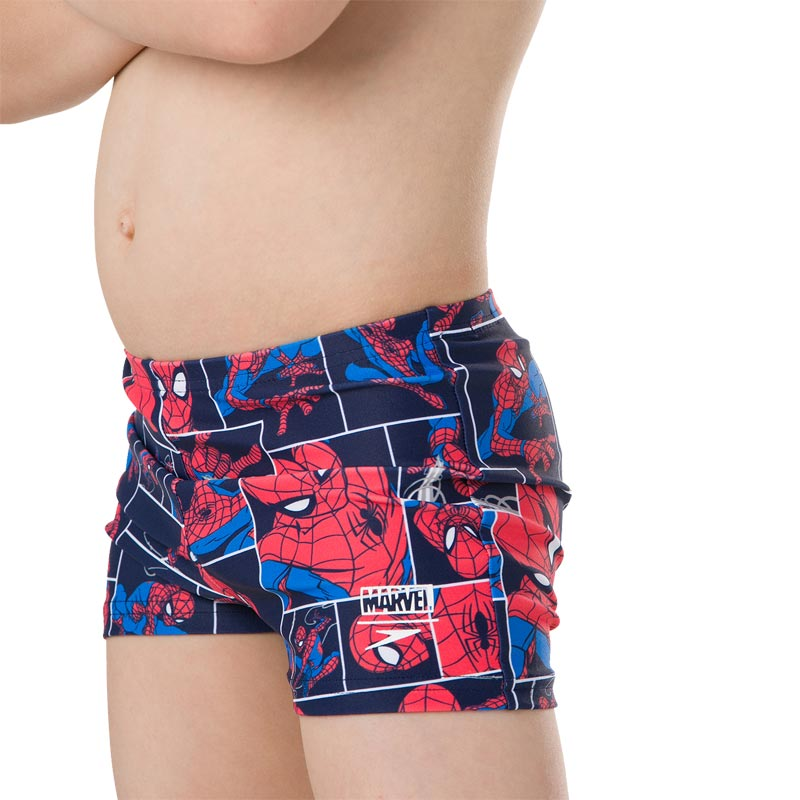 Speedo Marvel Spiderman Aquashort Navy/Lava Red/Neon Blue